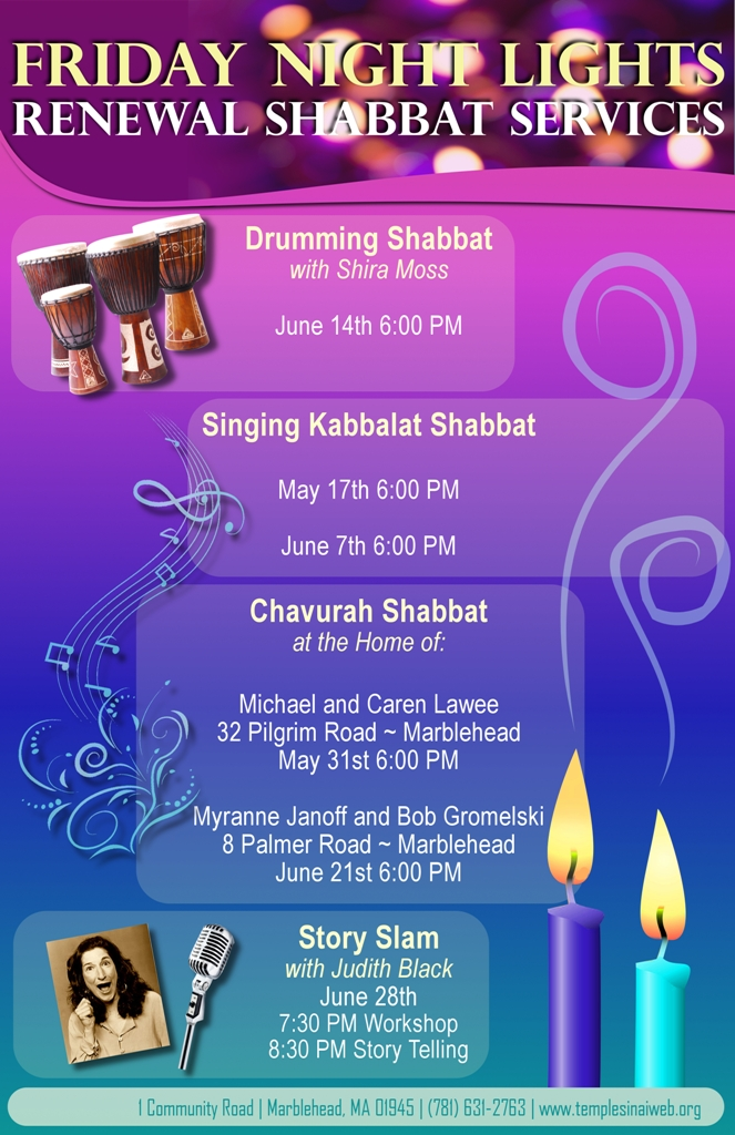 Friday Night Shabbat Services