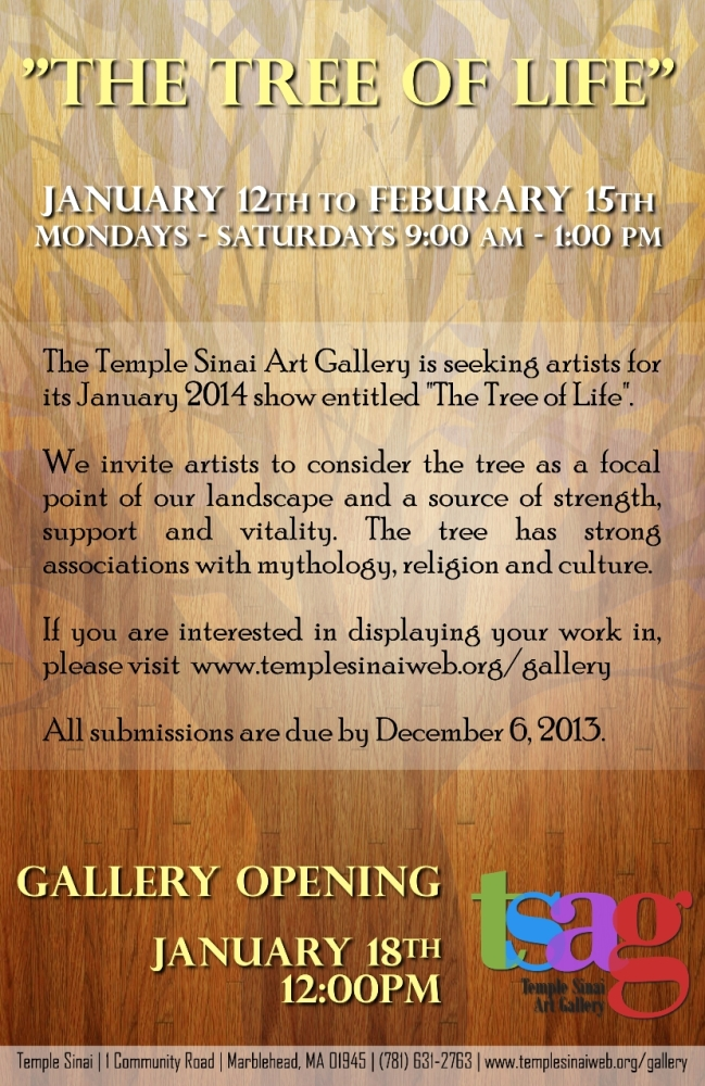 """Tree of Life"" Art Gallery Exhibit"