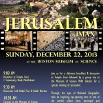 Jerusalem on IMAX - Dec. 22