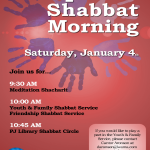 Special Shabbat Morning - Jan. 4